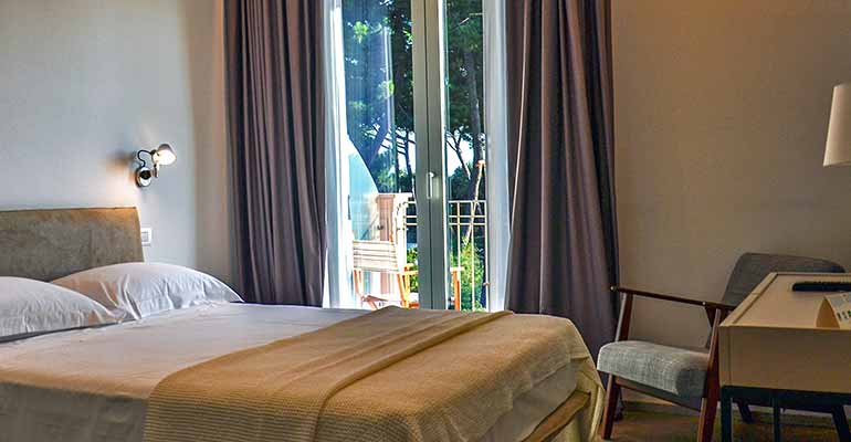 Hotel Villa Elsa rooms have been recently renovated